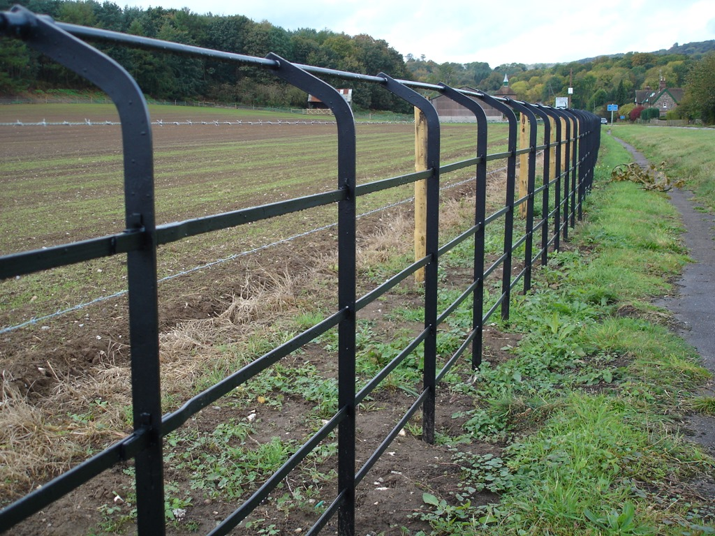 Country Estates Perimeter Fencing Groundwork And