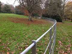 1200mm high - Galvanised Estate Railing