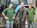 Pete, Spencer and Paul from Curling Contractors for fencing, arenas, and groundwork solutions